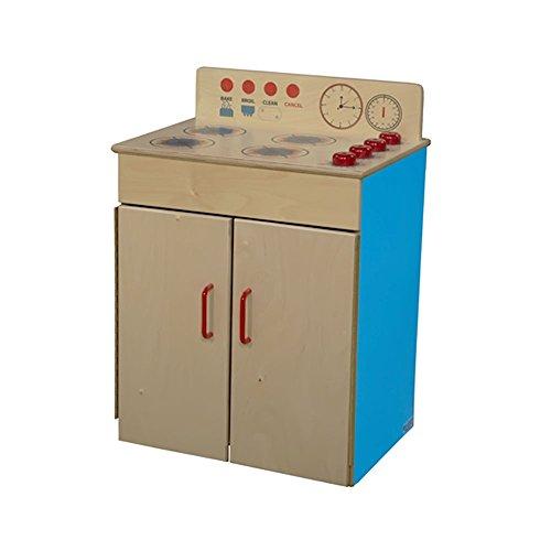 Wood Designs Children Pretend Play Toys Wd10100B Blueberry Range 24H X 21W X 15D