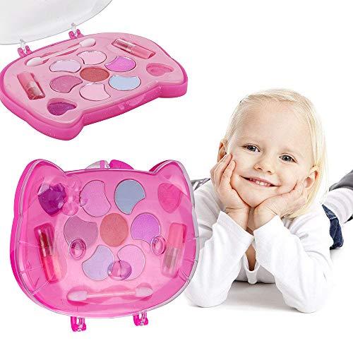 Lemoning Girls Pretend Play Toy Princess Makeup Palette Set For Kids Children