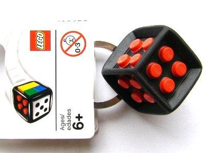LEGO Classic Board Game Die Keychain