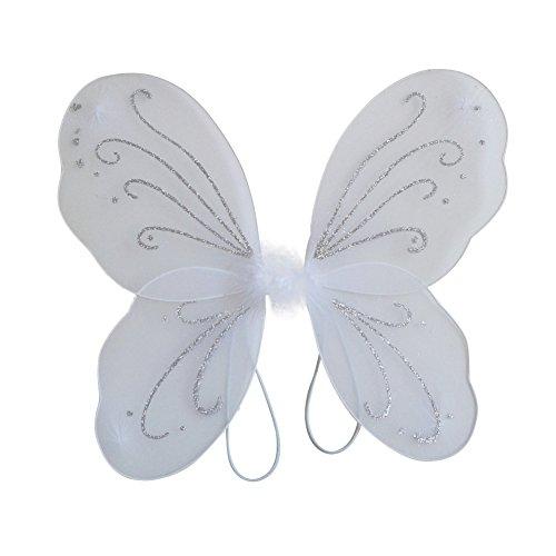BOBORA Kid Girl Angel Fairy Wings Dress Party Costume Halloween Cosplay Costume
