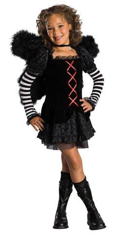 Drama Queens Childs Dark Angel Costume Large