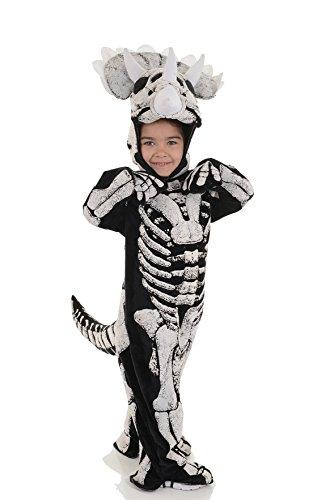 Childrens Triceratops Skeleton Costume - Fossil M