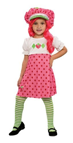 Strawberry Shortcake Costume Small Size Small Color One Color CustomerPackageType Standard Packaging Model 883488S Toys Play