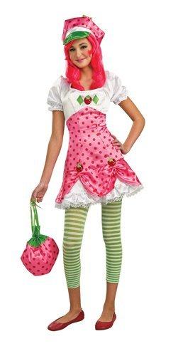 Strawberry Shortcake Costume Tween Small by Rubies