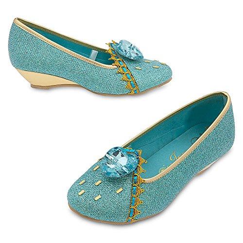 Disney Jasmine Costume Shoes Kids 910 Blue