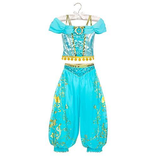 Disney Jasmine Costume for Kids - Aladdin Size 910 Multi