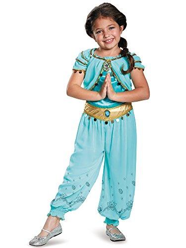 Disney Princess Jasmine Prestige Girls Costume