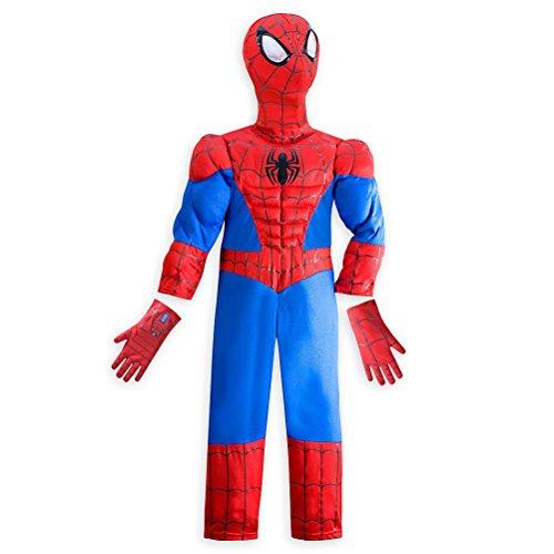 Disney Store Marvel Spiderman Little Boy Halloween Costume Size 56