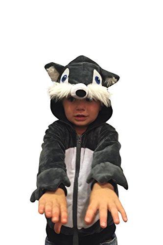 Halloween Costumes Kids Wolf Costume Boys Sweatshirt Halloween Costume 18-24mo