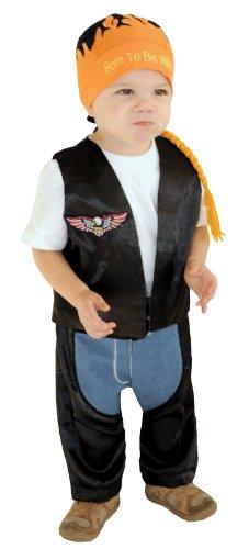Infant Boys Halloween Costume - Biker Dude Costume 6-18 months