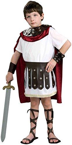 Kids Roman Gladiator Soldier Boys Halloween Costume Child Large 12-14