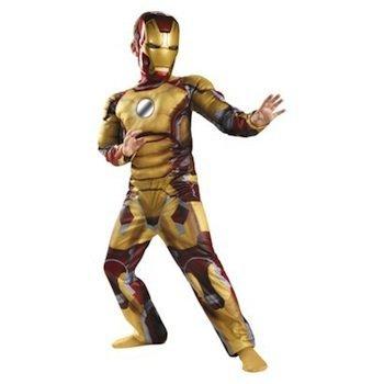 Marvel Iron Man 3 Iron Man Mark 42 Boys Halloween Costume MEDIUM