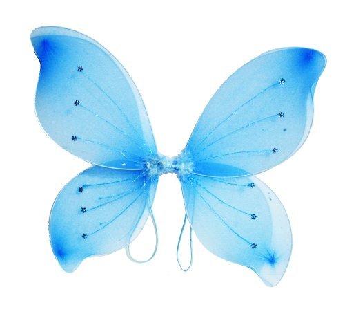 16x18 Fairy Wings Butterfly Costume - Light Blue