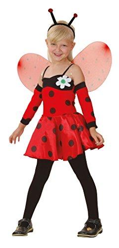 Bristol Novelty Ladybug Costume Medium Child Girl Age 5 - 7 Years