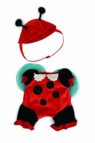 Manhattan Toy Baby Stella Dress Up Ladybug Baby Doll Costume