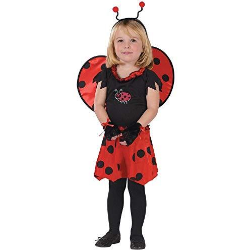 Sweetheart Ladybug Child Costume Size 3T-4T Toddler