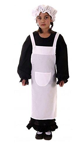 Rimi Hanger Childrens Victorian Girl Poor Maid Costume Poor Historic Fancy Book Week Dress 7-9 Years