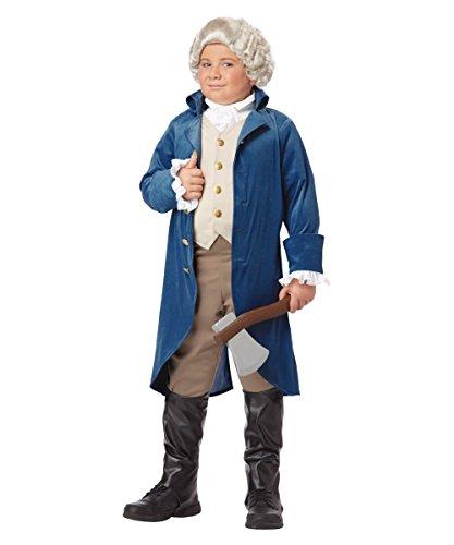 George Washington Boys Historical Costume