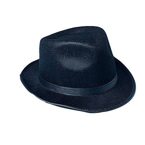 Black Fedora Costume Hat