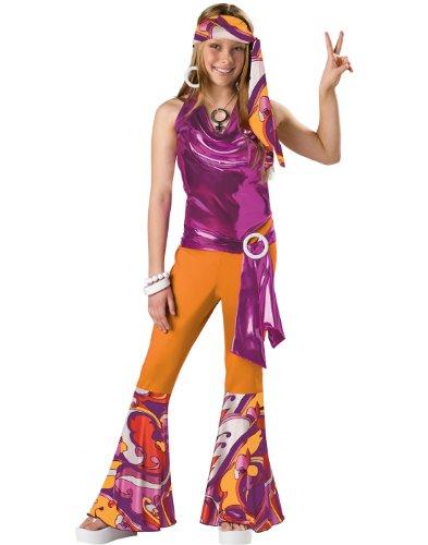 InCharacter Costumes Tween Kids Dancing Queen Costume OrangePurple Large