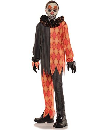 Evil Clown Halloween Kids Costume