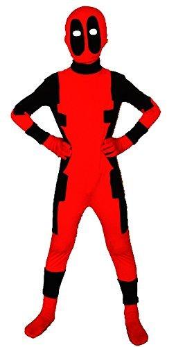 Riekinc Unisex Lycra Spandex Zentai Halloween Kids Cosplay Costumes
