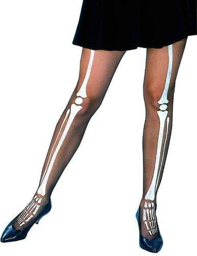 Adult Halloween Tights - Skeleton Bones Toy