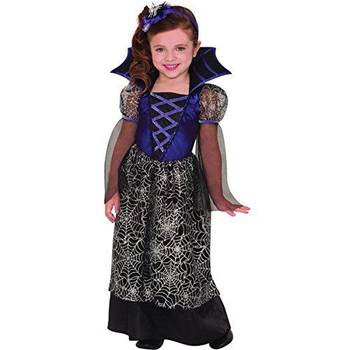 8 - 10 Years Girls Miss Wicked Web Costume