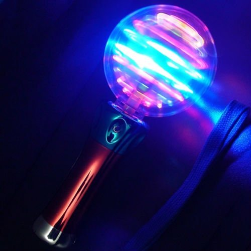 195cm Long Hand Held LED Spinner - Visual Special Needs Toy SEN Autism ADHD VSI by Lifestyle Checkout Ltd