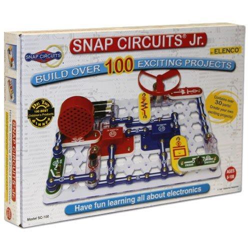 Elenco Snap Circuits Jr 100 Project Set - Includes Bonus Pop Toob