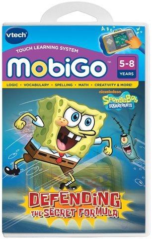 Game  Play VTech - MobiGo Software - SpongeBob SquarePants Learning Educational Teaching Toy Games Toy  Child  Kid