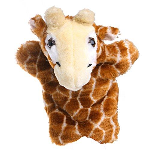 Kocome Kid Animal Hand Finger Puppet Plush Sika Deer Doll Baby Development Teaching Toy