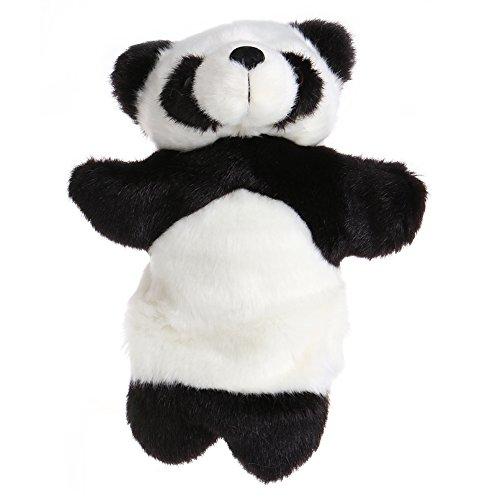 Magicub Cartoon Animal Hand Finger Puppet Toys Plush Cute Panda Doll Baby Kids Teaching Toy Gift