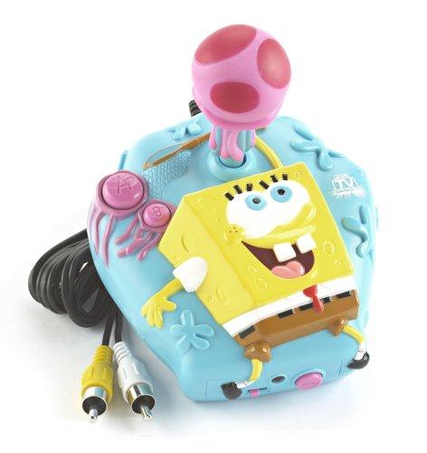 Jakks SpongeBob Squarepants Jellyfish Dodge Plug Play TV Game