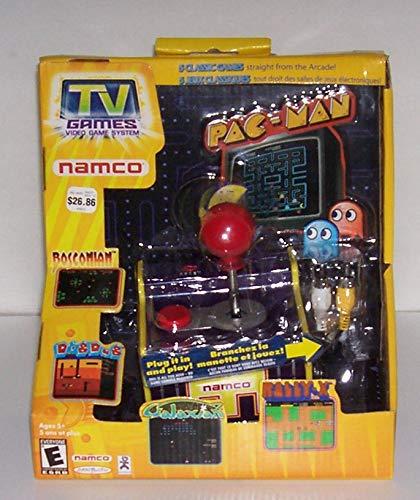 Original Pac Man Arcade Classics Namco Plug Play TV Games