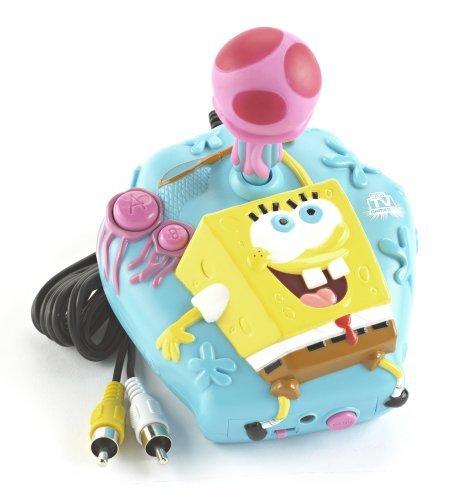 SpongeBob SquarePants Jakks Jellyfish Dodge Plug Play TV Game