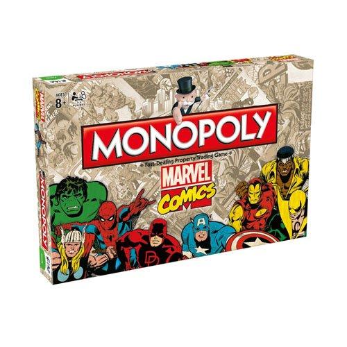 Marvel Comics Retro marvel Comics Retro Monopoly Board Game