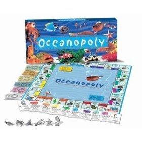 Oceanopoly Reef Fish Ocean animal Monopoly Board Game