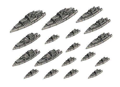 Dystopian Wars Kingdom of Denmark Naval Battle Group