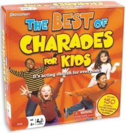 Best Of Charades For Kids Board Game by Pressman Toy