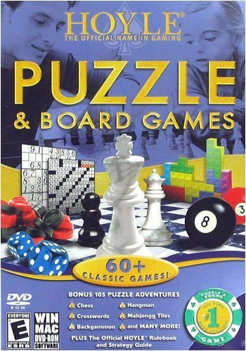 HOYLE PUZZLE AND BOARD GAMES by Sierra On-Line