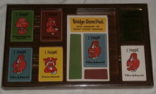 Vintage Bridge Card Game Party Pack