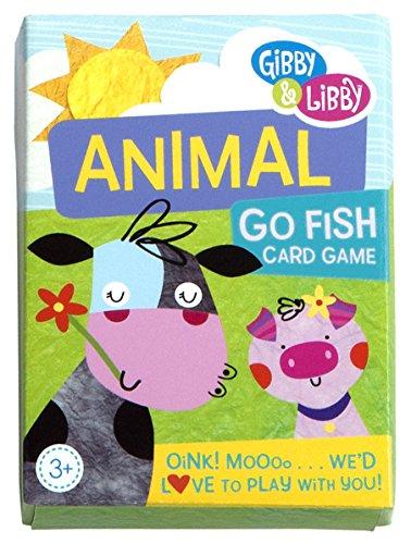 CR Gibson Animal Go Fish Card Game