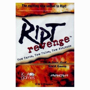 INNOVA Ript Revenge Disc Golf Card Game