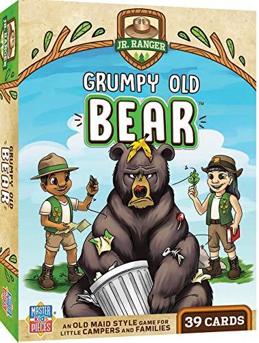 MasterPieces Jr Ranger - Grumpy Old Bear Kids Card Game