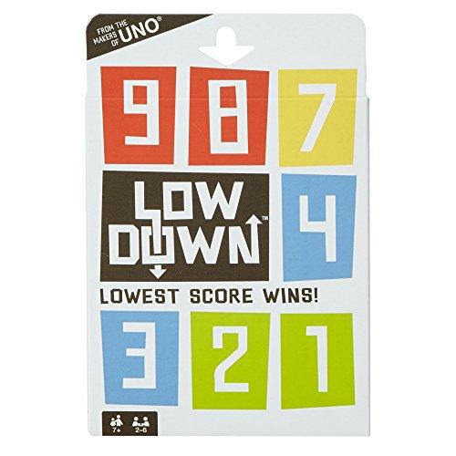 Mattel Games Low Down Card Game