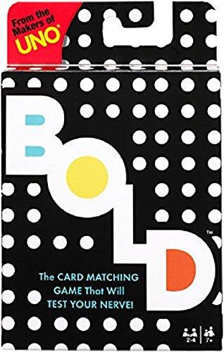 Mattel Games UNO BOLD Card Game