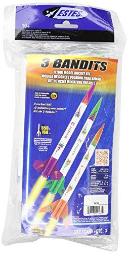 Estes 3 Bandits Model Rocket Kit