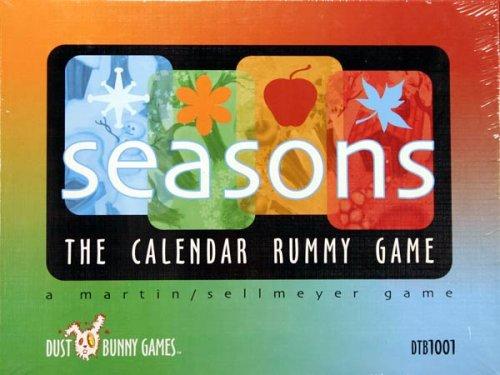 Seasons the Calendar Rummy Card Game
