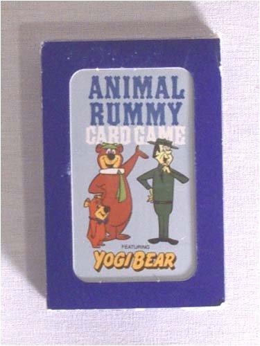 Vintage Yogi Bear Animal Rummy Card Game